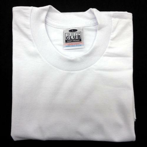 Pro club t shirts heavy weight ebay for T shirts for clubs