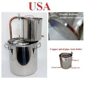 Copper alcohol water distiller wine maker brew fermenter for Copper water tank
