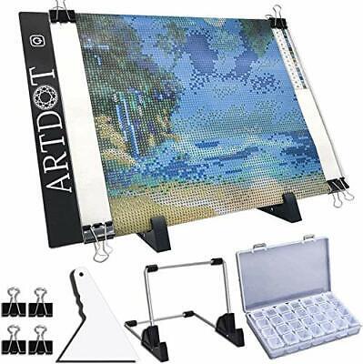 "A4 LED Light Pad for Diamond Painting USB Powered Light Board Kit Adjustable"""