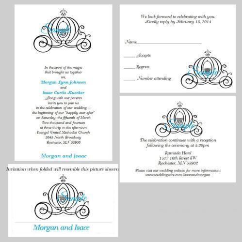 disney wedding invitations ebay With disney wedding invitations ebay