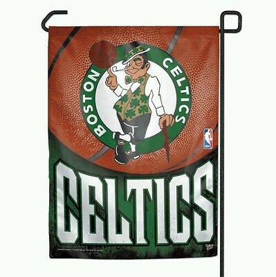 Boston Celtics Garden Flag 11 X15  Yard Banner Outdoor Rated Weather Resistant