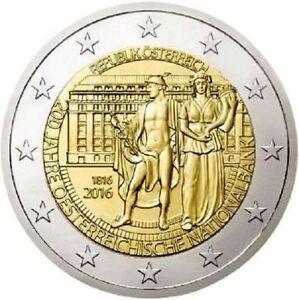 2 EURO FDC austria COMMEMORATIVO BANCA DI AUSTRIA - Italia - 2 EURO FDC austria COMMEMORATIVO BANCA DI AUSTRIA - Italia