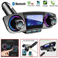 Trasmettitore FM Transmitter adattatore wireless Bluetooth Radio MP3 audio con Caricabatteria da auto Radio ricevitore stereo lettore AUX porta USB della carta di deviazione standard Micro Flash Dri