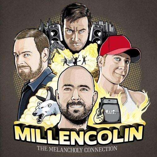 MILLENCOLIN - THE MELANCHOLY CONNECTION+BONUS DVD  CD + DVD NEU