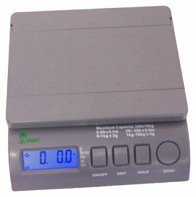 35 lb x 0.1 oz LCD Digital Postal Shipping Scale with AC Adapter Free Shipping