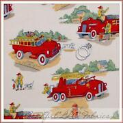 Vintage Truck Fabric