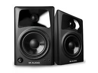 M-Audio BX Subwoofer & AV42 Desktop Monitors