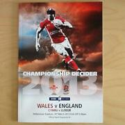 England Rugby Programmes
