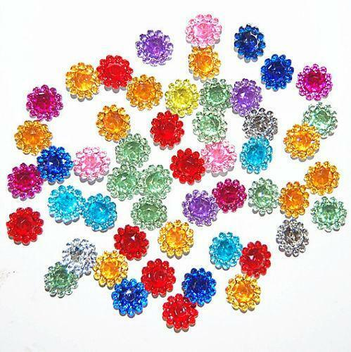 Craft gems ebay for Plastic gems for crafts