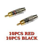RCA Plug Solder