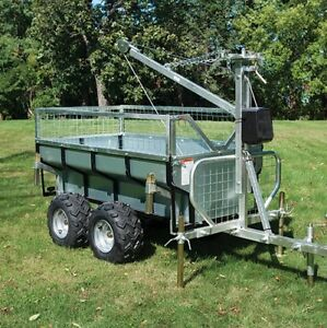 ON SALE FULLY LOADED ATV TRAILER LOG UTILITY DUMP PRO PACKAGE