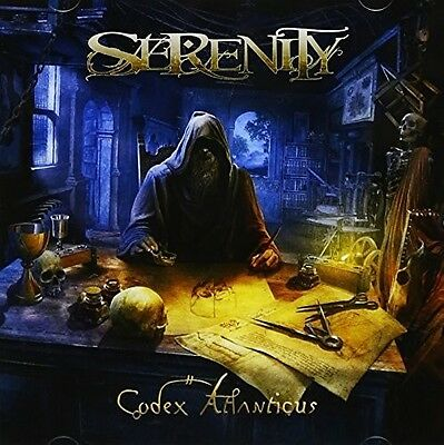 Serenity   Codex Atlanticus  New Cd  Japan   Import