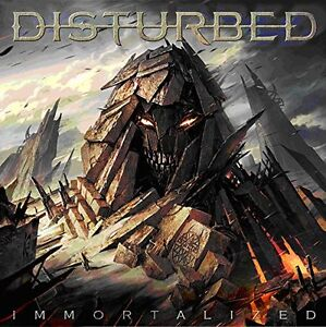 DISTURBED IMMORTALIZED CD incl: THE SOUND OF SILENCE (new sealed)