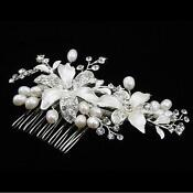 Wedding Hair Accessories Pearl