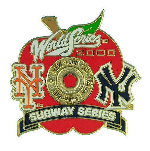 2000 Subway Series Sports Mem Cards Fan Shop Ebay