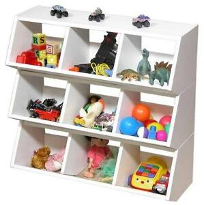 Incroyable Toy Storage Shelves