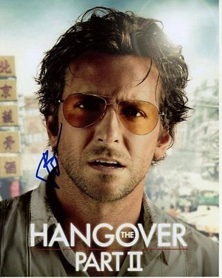 Bradley Cooper Signed Autographed 8X10 The Hangover Part Ii Phil Photograph