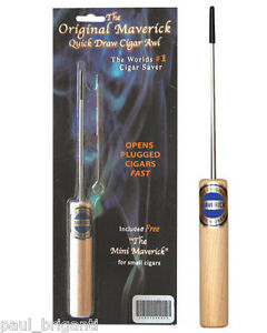 The-Original-Maverick-Quick-Draw-Cigar-Saver-Awl-Enhancer-w-Free-Mini-Maverick