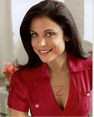 Bethenny Frankel Signed Photo W  Hologram Coa