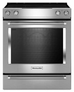 STEAL OF A DEAL! NEW IN BOX KitchenAid Electric Range YKSEG700ES