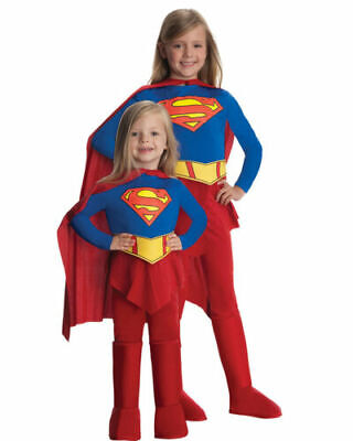 2 Year Old Halloween Costumes (Supergirl Infant Toddler Superwoman Halloween Costume Size 2-4 for 1-2 Year)