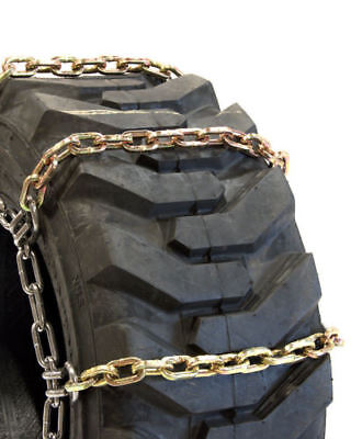 Rud Ladder Pattern 12-16.5 7mm 4 Link Skid Loader Tire Chains - 3227-ss