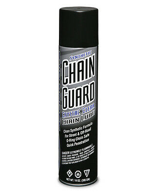 (MAXIMA CRYSTAL CLEAR CHAIN  OIL, LUBE, ATV, MOTORCYCLE, BMX, DIRT BIKE)