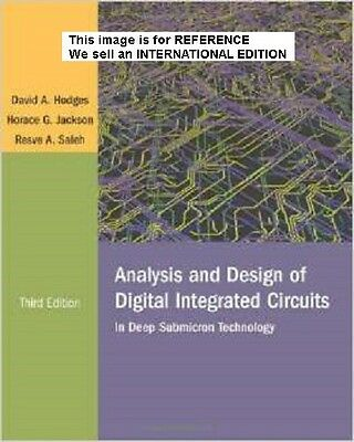 Analysis and Design of Digital Integrated Circuits: In Deep(Int' Ed