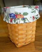 Longaberger Medium Fruit Basket Liner