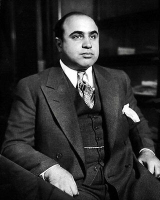 1931 Scarface Al Capone Photo 8X10   Chicago Mafia Mobster  Buy Any 2 Get 1 Free