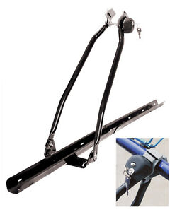 UNIVERSAL-CAR-ROOF-MOUNTED-UPRIGHT-BICYCLE-RACK-BIKE-LOCKING-CYCLE-CARRIER-NEW