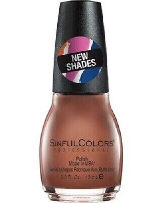 SINFUL COLORS NAIL POLISH - HOT TOFFEE #2546 - NEW SHADE!  NEW, -