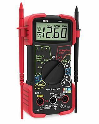 Automotive Multimeter Digital Voltage Battery Circuit Cheap Auto-ranging Tester
