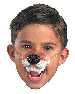 Wolf Nose Costume (Wolf Nose Soft Rubber Animal Mask Big Bad Wolf Child Costume)