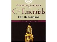 GIVEAWAY - Computing concepts with C++ essentials 3rd edition