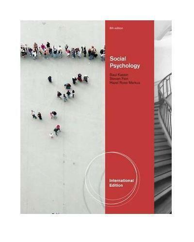 Social psychology books ebay social psychology kassin fandeluxe Choice Image