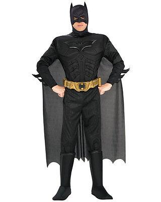 The Dark Night Costume (Deluxe Batman Adult Costume Batman the Dark Night Rises Superhero Size)