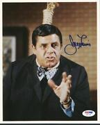 Jerry Lewis Signed