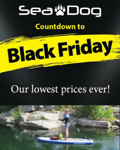 Sea Dog Inflatable Stand Up Paddle Board Packages - BLACK FRIDAY