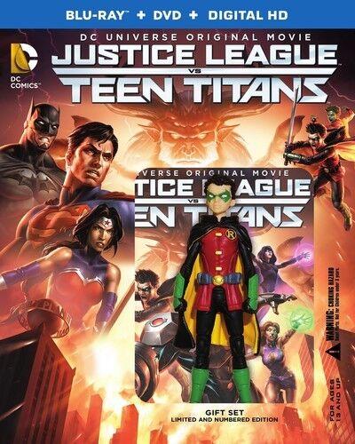 Justice League Vs Teen Titans - 2 DISC SET (2016, Blu-ray NEW) 883929530076