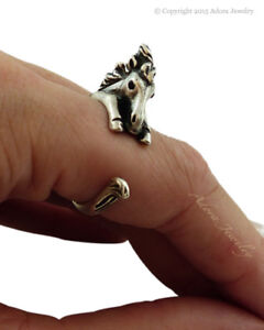 Horse Wrap Ring - Adjustable Size