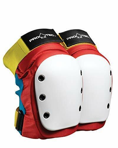 Pro-Tec Skate-and-Skateboarding-Helmets Pro-Tec Street Knee Pad Retro