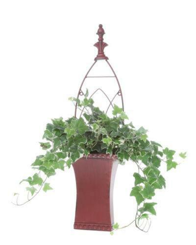 metal wall planter ebay. Black Bedroom Furniture Sets. Home Design Ideas