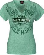Womens Harley Davidson Short Sleeve Shirts