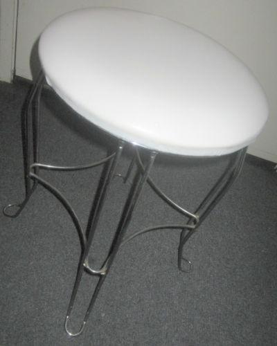 Ebay Bathroom Vanity >> Metal Vanity Stool | eBay