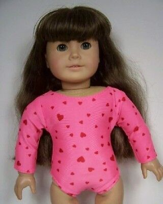 "RED w//White Polka Dot SwimSuit Doll Clothes For 18/"" American Girl Dolls Debs"