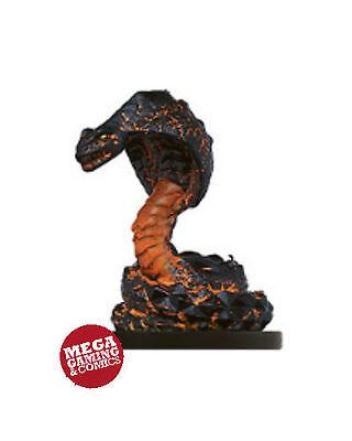 D&D Miniatures Flame Snake #42 Desert of -