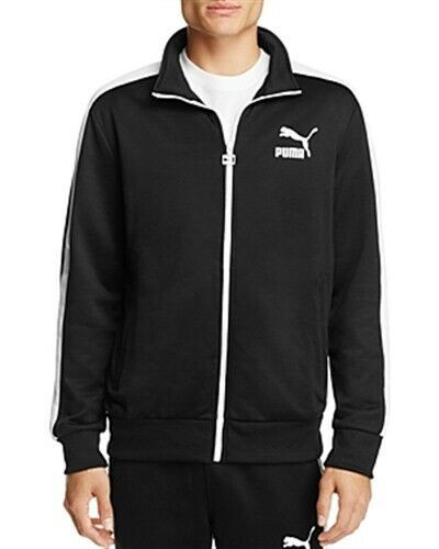 presidente Museo pestaña  PUMA Archive T7 Track Jacket Black Mens Small New | eBay
