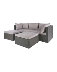 🔥☀️ Gardenline Anthratcite Rattan Garden Sofa With Table/Cover ☀️🔥