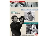 Roman Polanski (Blu-Ray Triple) - Repulsion / Cul De Sac / Knife in the Water (Box Set)- NEW!